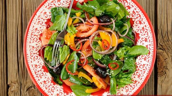 Читать рецепты салатов с фото