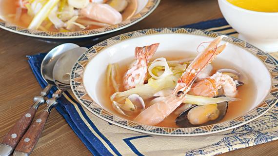 Супы с морепродуктов рецепты с фото