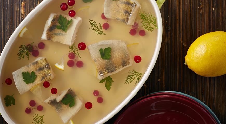Рецепт Заливная рыба по-галичски от Екатерины Чавриной