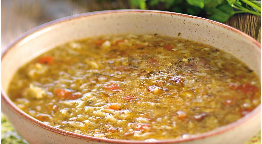 Рецепт Харчо из баранины с аджикой