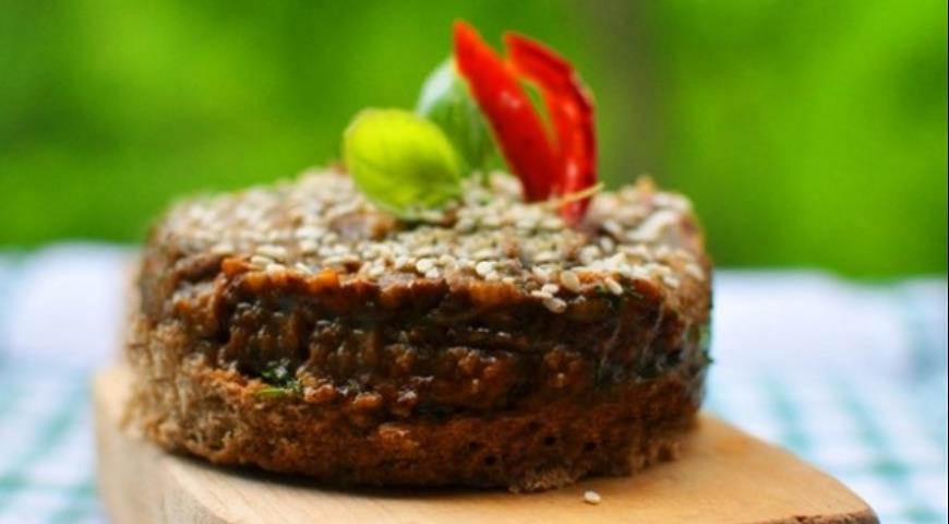 Рецепт Паштет из грибов и баклажанов