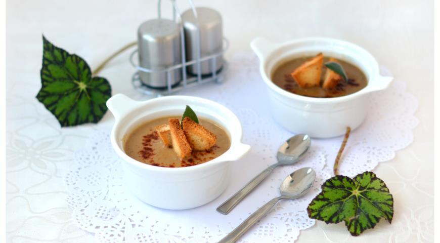 Рецепт Суп-пюре из чечевицы и золотистых овощей