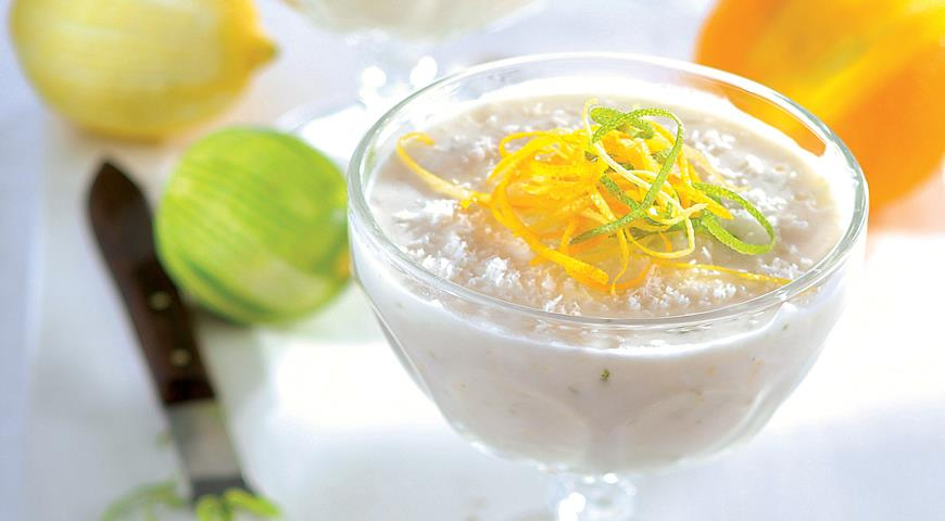 Рецепт Лимонно-йогуртовый десерт