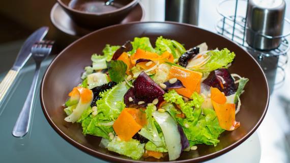 рецепты салатов из мяса и овощей