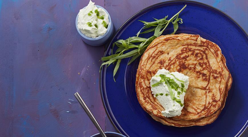 Рецепт Сырная намазка с тархуном