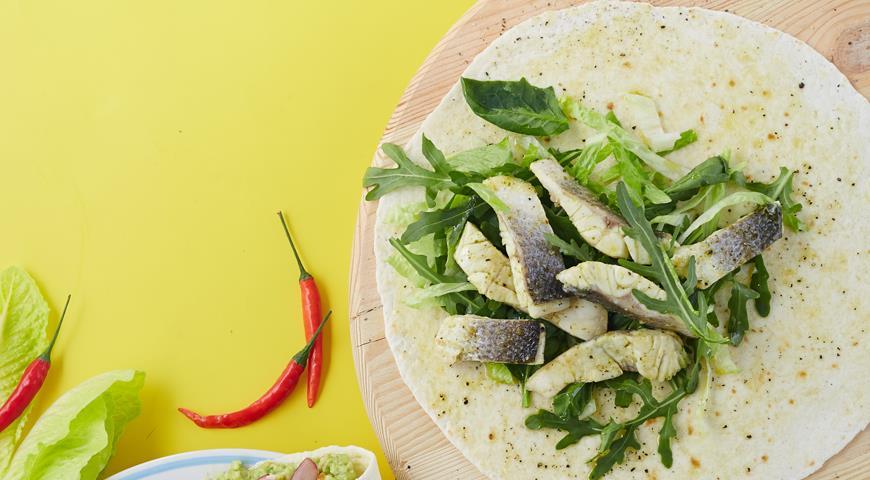 Рецепт Белая рыба, маринованная в текиле с лаймом