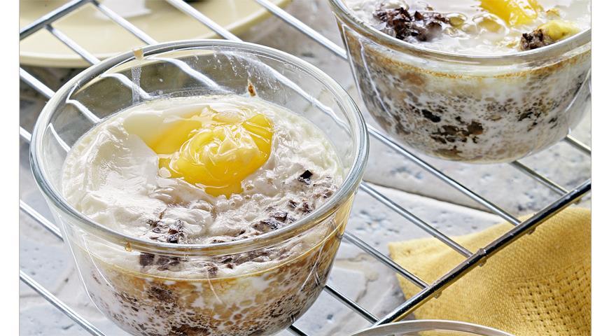 Рецепт Яйца кокот с тапенадом