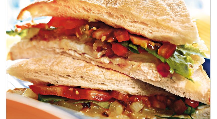 Рецепт «Колониальный» сэндвич