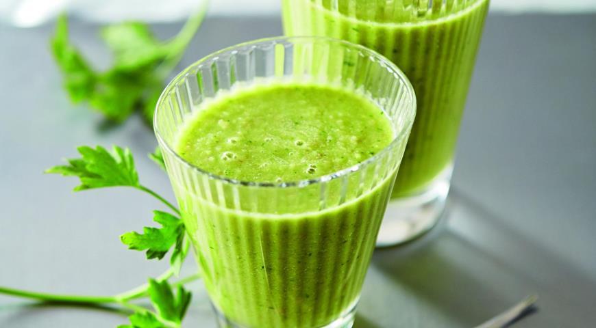 Рецепт Зеленый смузи-завтрак