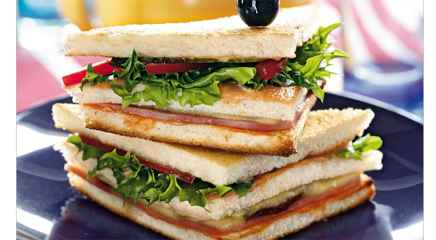 Рецепт Клубный сэндвич