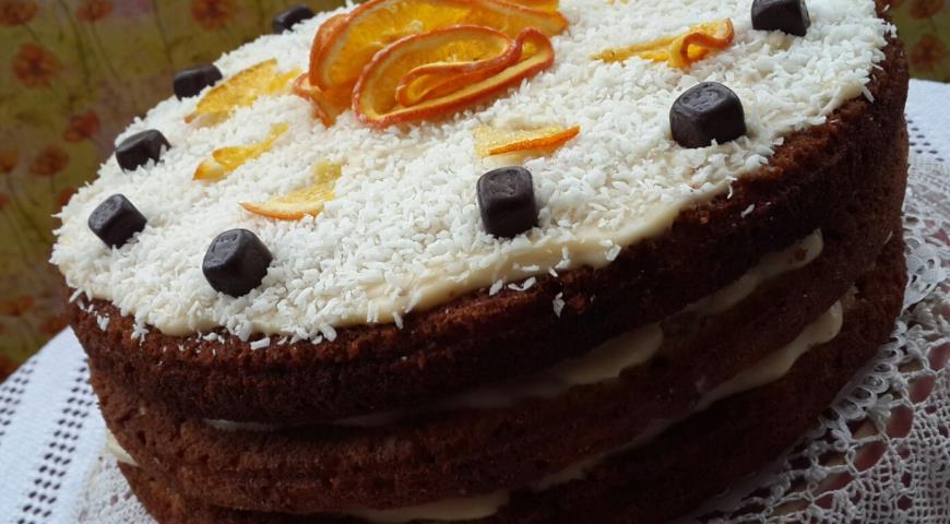 рецепт торт панчо с заварным кремом