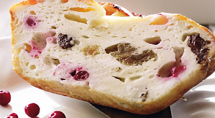 Рецепт Запеканка с брусникой
