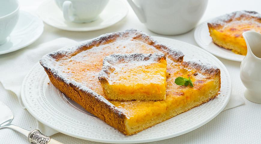 Рецепт Тарт с апельсиновым конфитюром