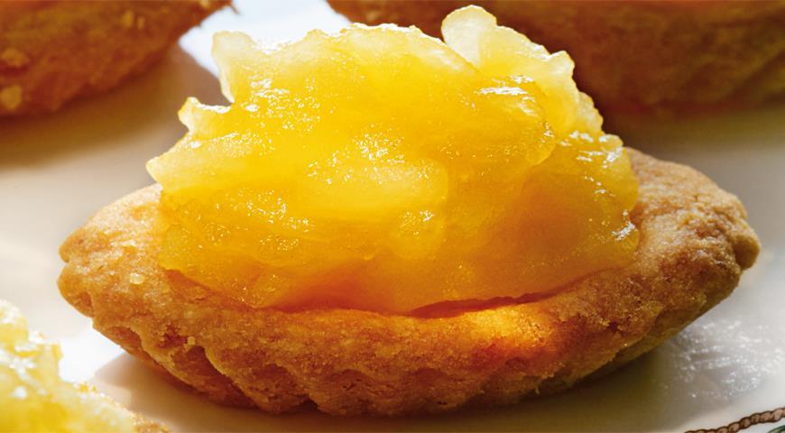 Рецепт Тарталетки с яблоками и медом