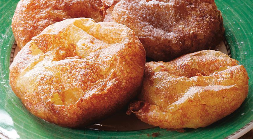 Рецепт Яблочные кольца