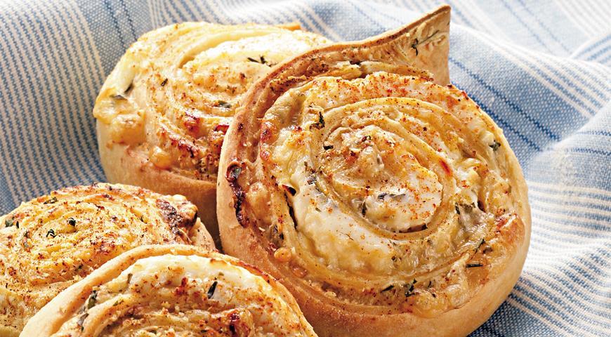 Рецепт Плюшки с сыром
