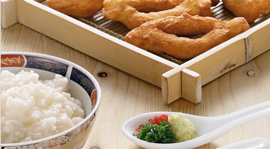 Рецепт Китайский завтрак (конжи и ю тиао)