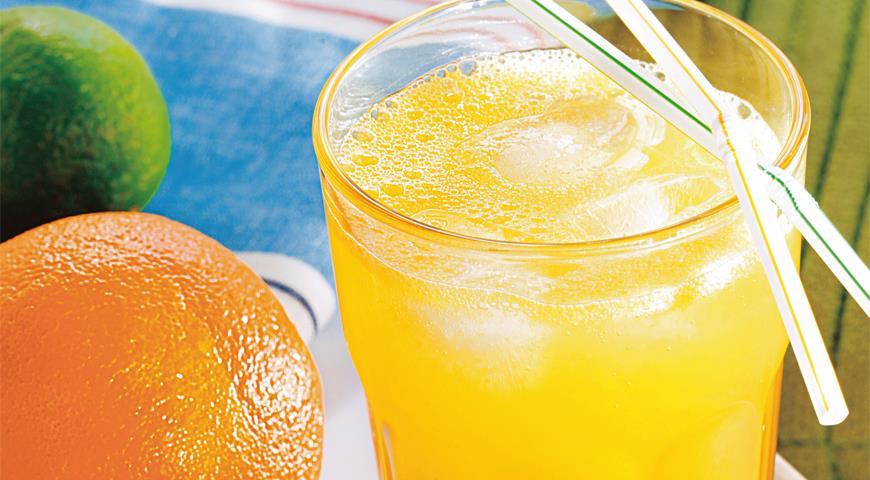 Рецепт Тонизирующий апельсиновый сок