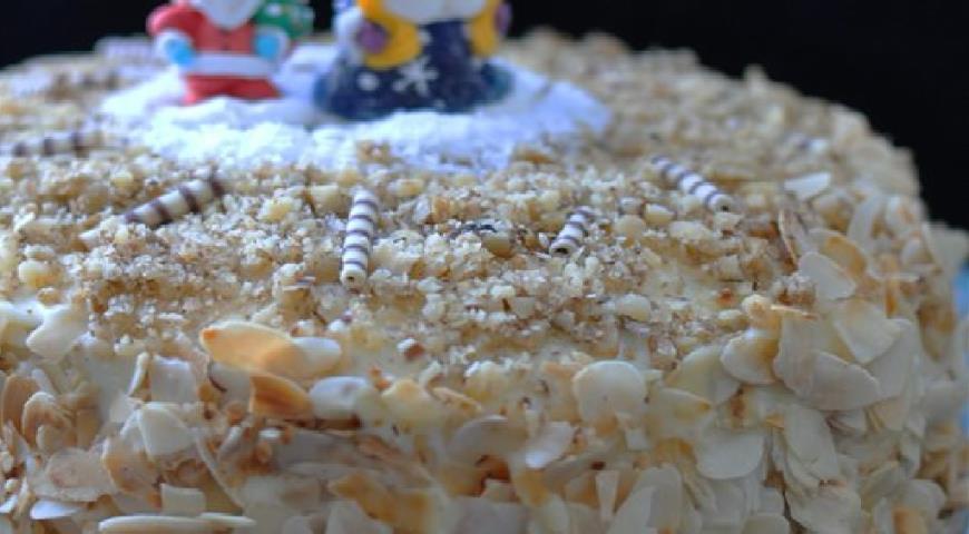 фото рецепт медовый торт с заварным кремом рецепт