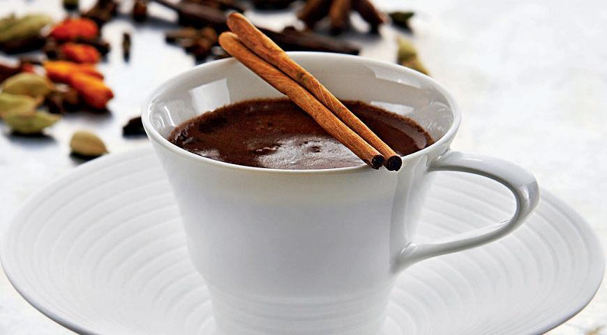 Рецепт Пряный горячий шоколад