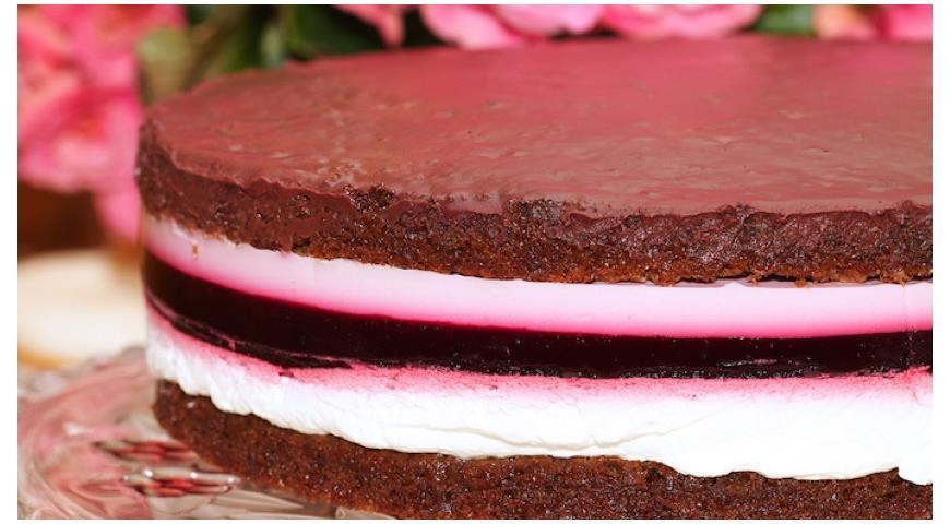 как приготовить шоколадное желе для торта