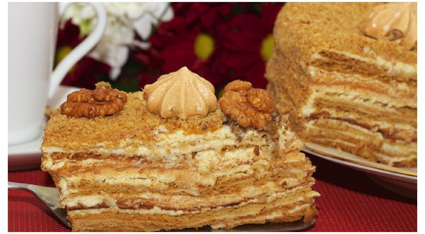 бисквитный торт с прослойкой безе рецепт с фото
