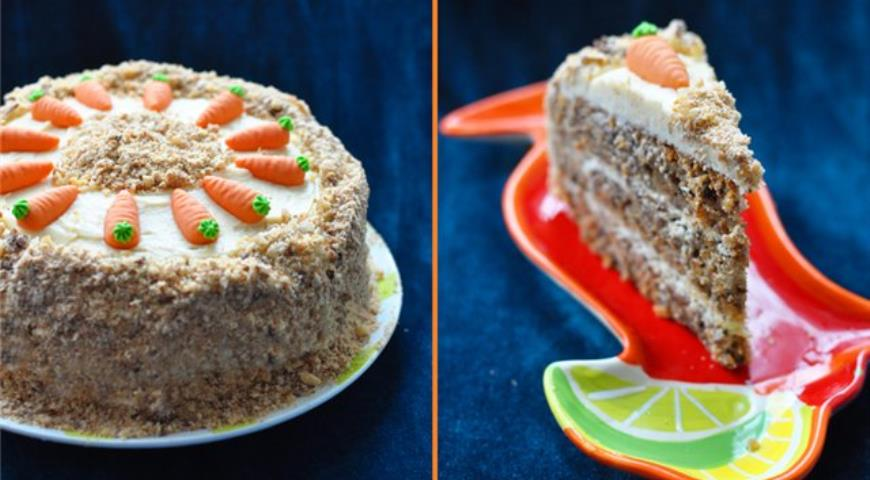 Рецепт Английский морковный торт