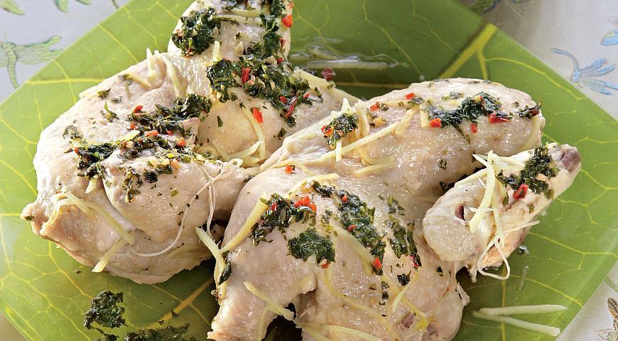 Рецепт Курица с острым соусом в китайском стиле