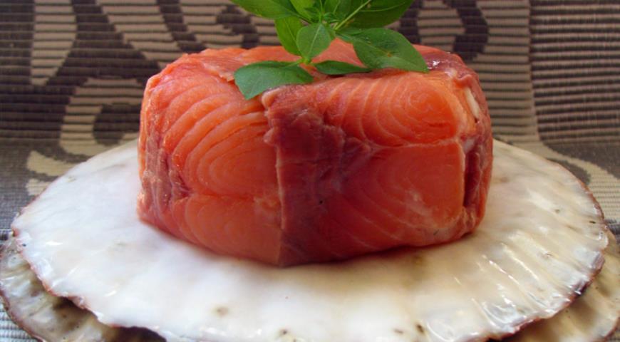Рецепт Закуска «Подводный Грот»