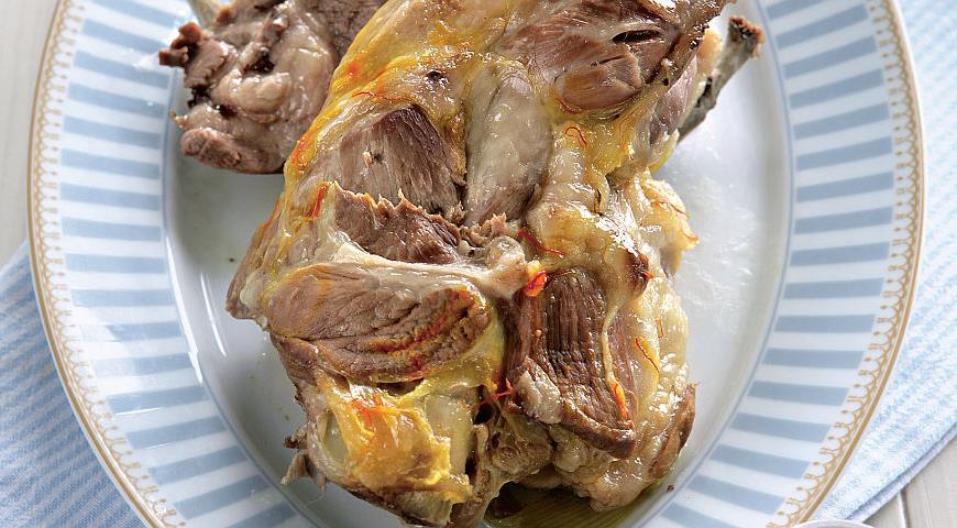 Рецепт Баранина с шафраном