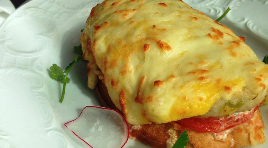 Рецепт Бутерброд с щучьей котлетой