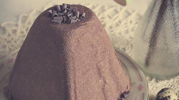 Шоколадная пасха заварная