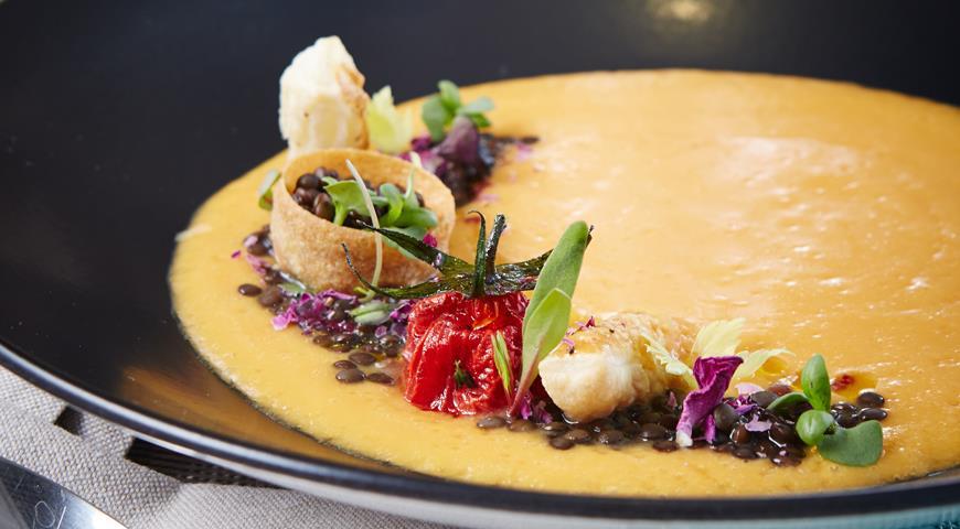 Рецепт Крем-суп из чечевицы от Михаила Кукленко