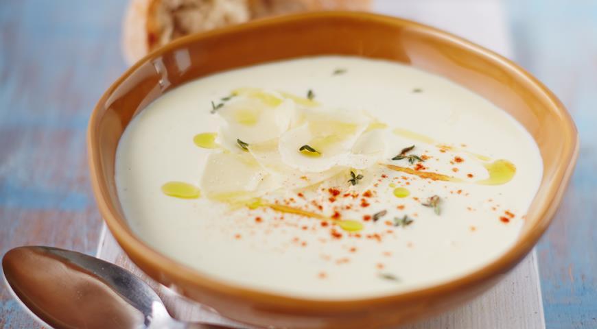 Рецепт Крем-суп из пастернака и яблок