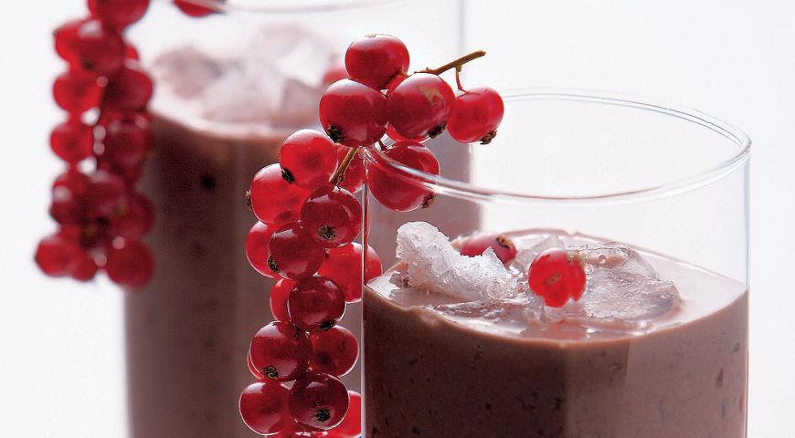 Рецепт Шоколадно-фруктовый милк-шейк