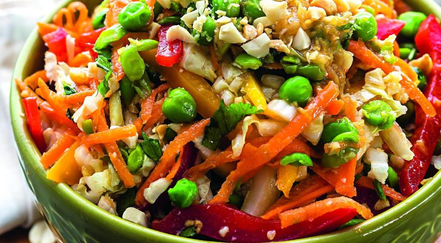 Рецепт Тайский овощной салат