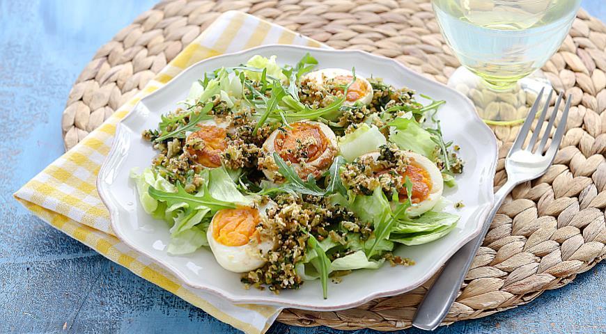 Рецепт Яйца по-сардски