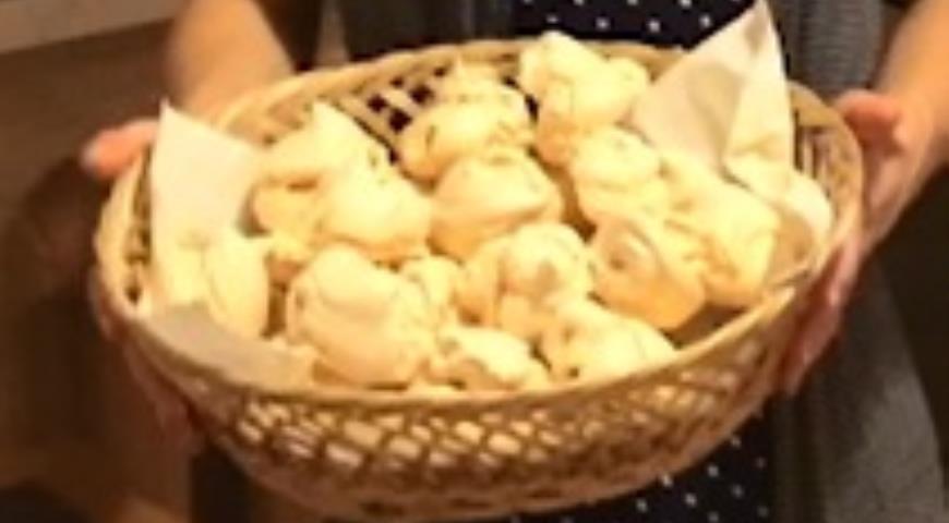 Рецепт Безе из яиц - легко