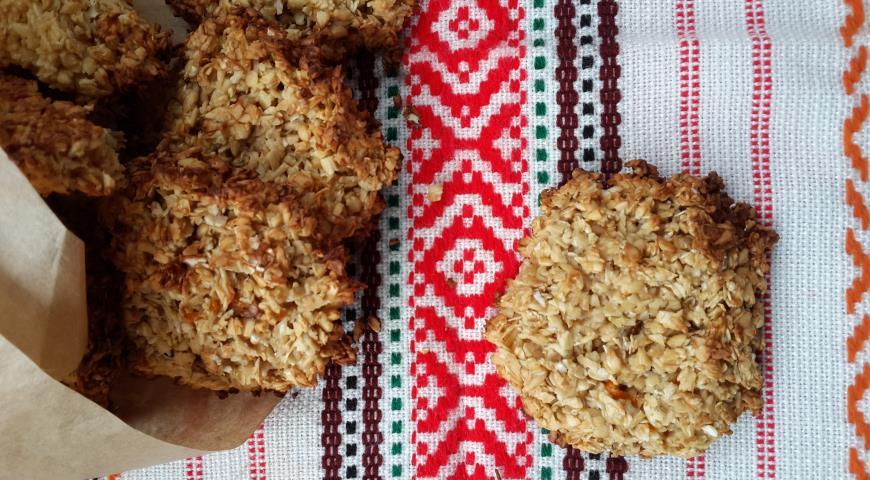 Рецепт Печенья из овсяных отрубей
