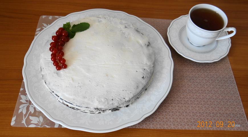 Торт черемуховый пошаговый с фото