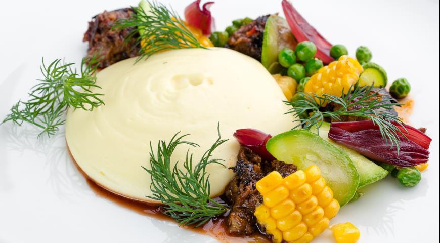 Рецепт Козленок с картофельным пюре