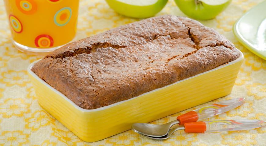 Рецепт Пряный яблочный кекс