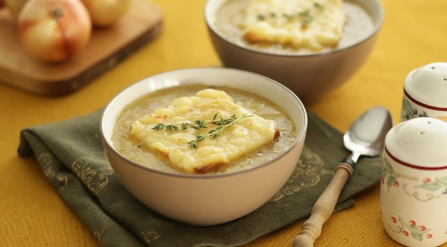 Рецепт Луковый суп по-лионски