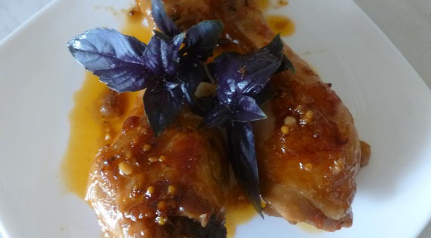 Рецепт Курица в соево-медовом соусе