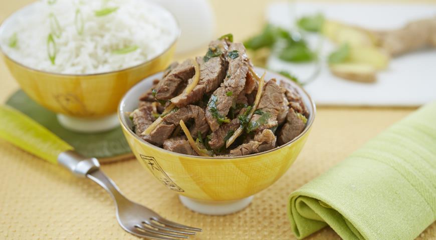 Мягкая жареная говядина пошаговый рецепт с фотографиями