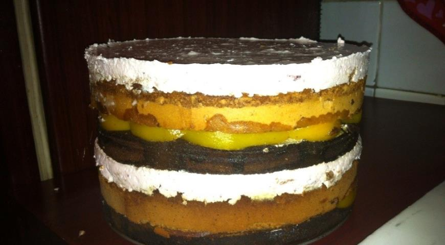 Торт-суфле рецепт с пошаговым фото