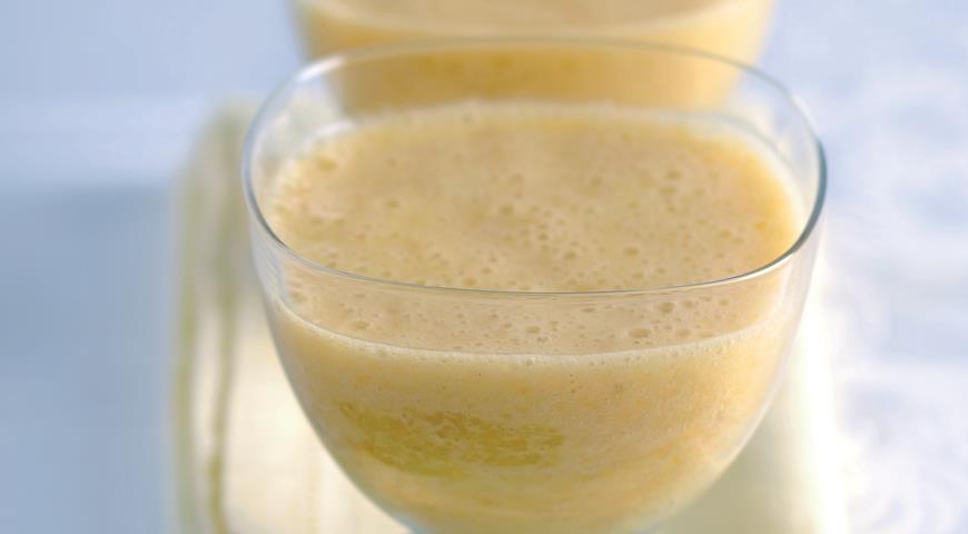 Рецепт Смузи с грейпфрутом, грушей и отрубями