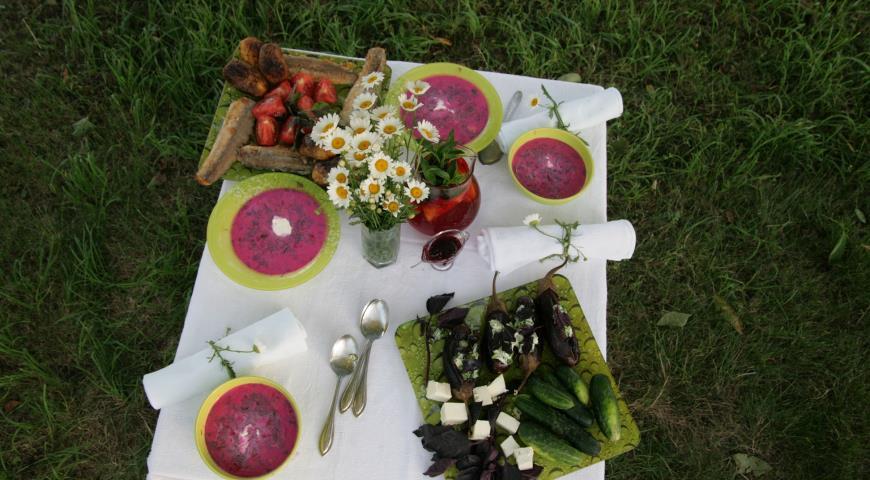 Рецепт Летняя окрошка