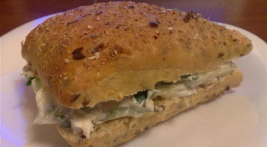 Рецепт Английский сэндвич с огурцами