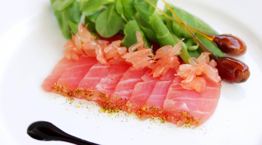 Рецепт Карпаччо из тунца
